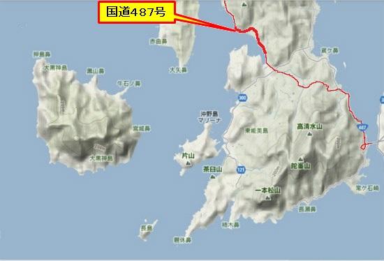 5)大柿町南部 小古江R487