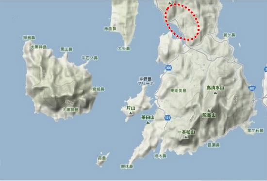 5)大柿町南部・小古江