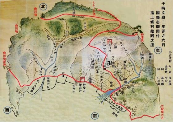 小古江古地図完成図