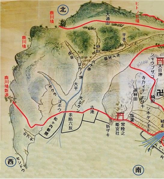 小古江古地図西半分