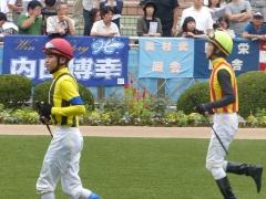 パドック:三浦皇成騎手
