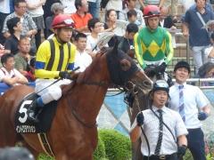 パドック:イントロダクションと三浦騎手