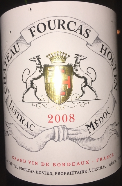 Chateau Fourcas Hosten 2008