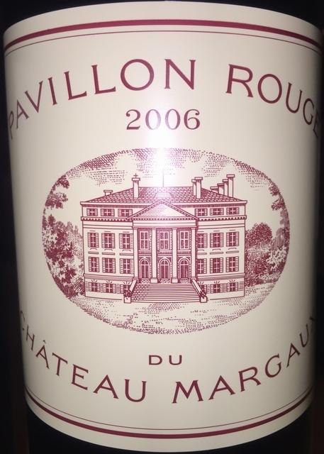 Pavillon Rouge du Chateau Margaux 2006