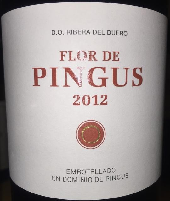Flor de Pingus 2012