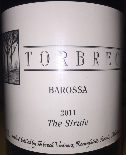 Torbreck Barossa The Struie 2011