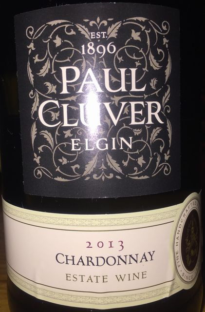 Paul Cluver Elgin Chardonnay 2013