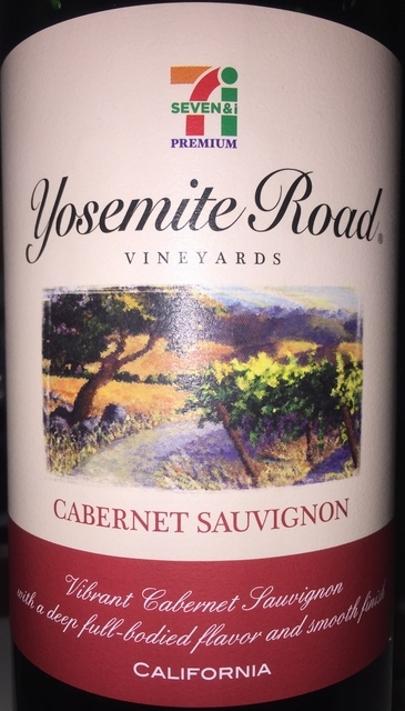 Yosemite Road Vineyards Cabernet Sauvignon Seven_i Premium NV part1