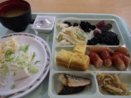 おおるり朝食2015.10