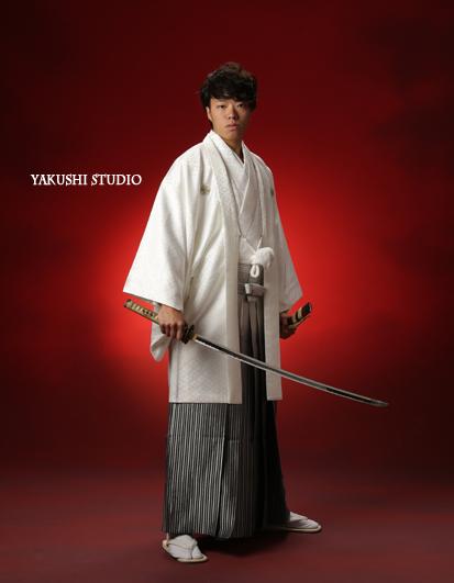 1509060670成人 男子 羽織袴