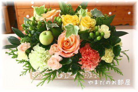 2015年ナオミの命日のお花①