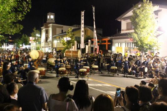 二十日祭 太鼓