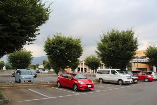 牛倉神社例大祭 駐車場