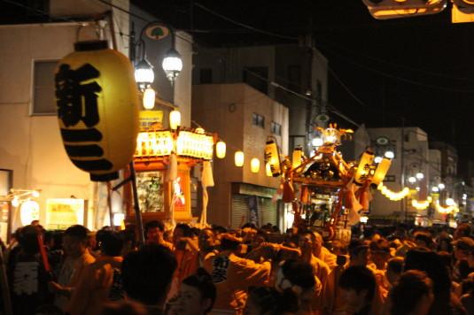 牛倉神社例大祭 外観