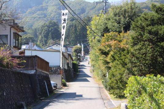 武田八幡宮例大祭 参道