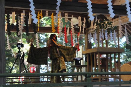 武田八幡宮例大祭 神楽
