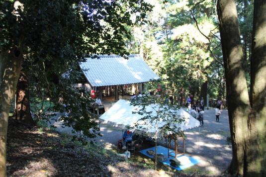 武田八幡宮例大祭 神楽殿