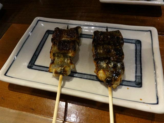 さんま串焼き(塩、かば焼き)