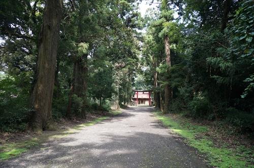 2八幡神社の参道