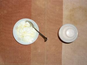 ダイエットプロテイン(いちごみるく味),ヨーグルト