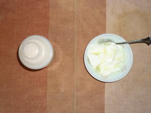 ダイエットプロテイン(いちごみるく味),オリゴ糖入りヨーグルト