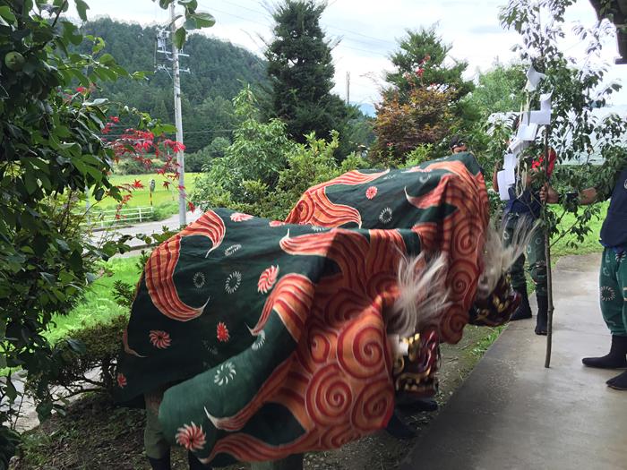 20150903 例祭 獅子舞