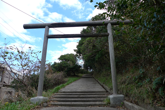 出雲の神社巡り  神蹟隠ヶ丘  2