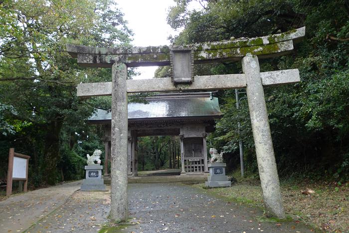 因幡の神社  倭文神社  2