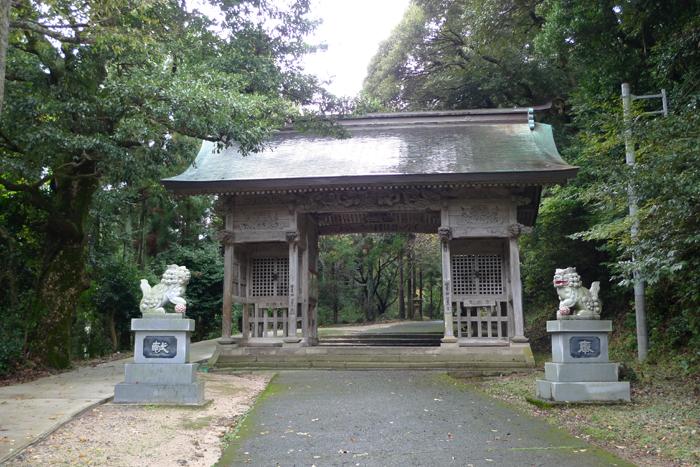 因幡の神社  倭文神社  3