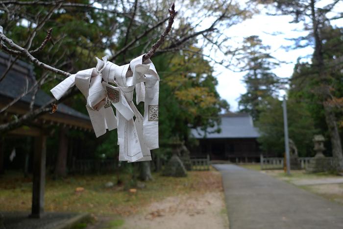因幡の神社  倭文神社  13