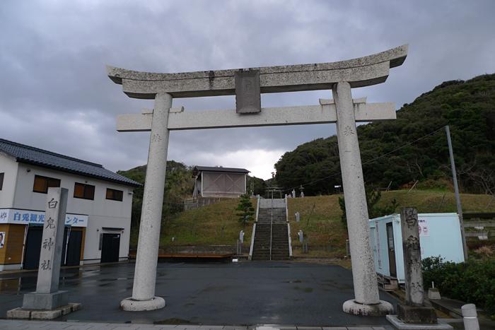 因幡の神社  白兔神社  1