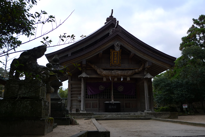 因幡の神社  白兔神社  10