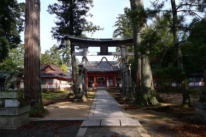 但馬の神社  出石神社  1