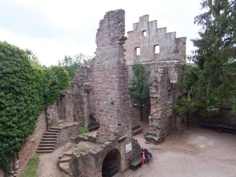 Zavelsteinの廃墟2