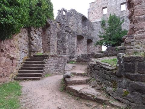 Zavelsteinの廃墟3