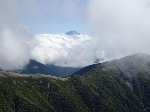 9月19日 蝙蝠尾根なめの富士山
