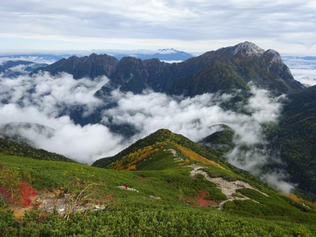 9月26日 鋸岳と甲斐駒ケ岳