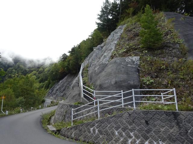 9月26日 丹渓新道入口