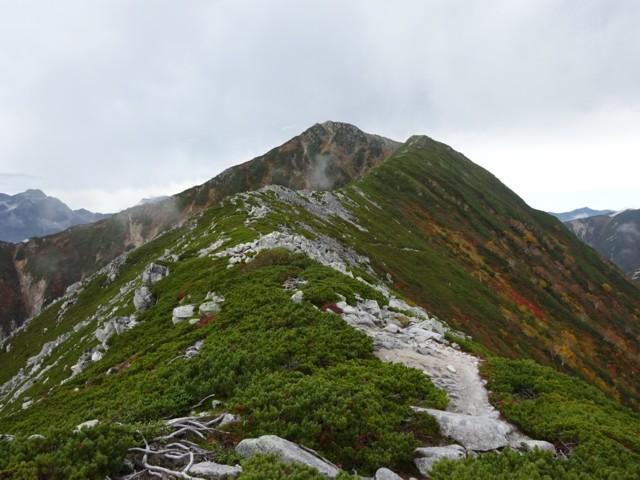 9月27日 常念岳まではもう少し