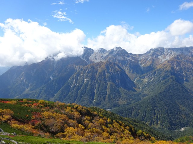 9月27日 穂高岳
