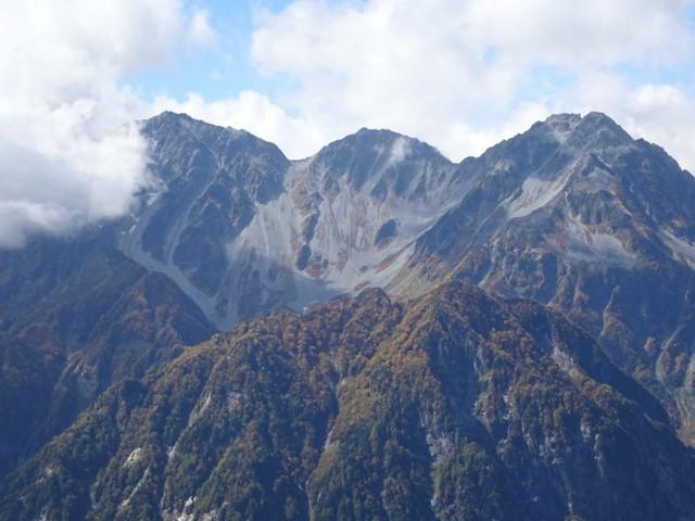 9月27日 穂高岳の拡大