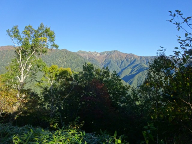 10月3日 千畳敷と宝剣岳.良い天気.