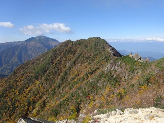 10月4日 駒津峰