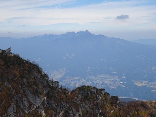 10月4日 黒戸尾根の向こうには八ヶ岳