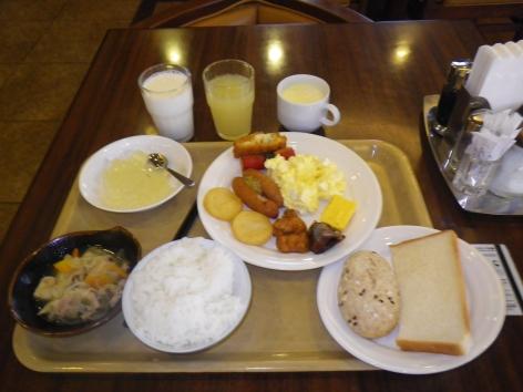 ホテルルートイン弘前城東 朝食