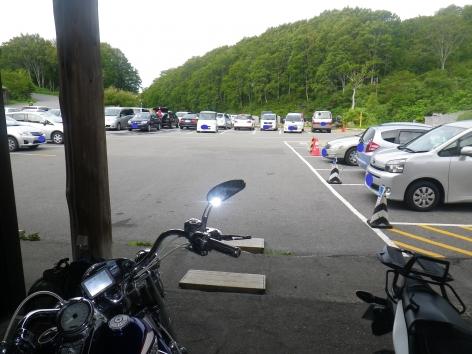 酸ヶ湯 2015 駐車