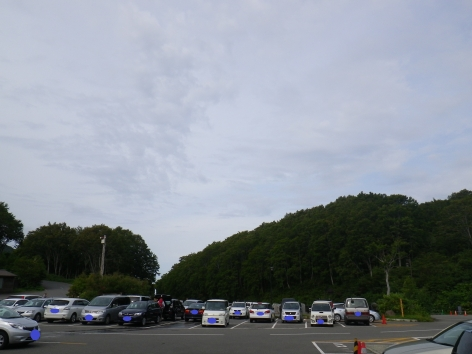 酸ヶ湯 2015 駐車場