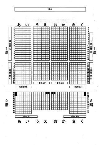 竜馬座席表