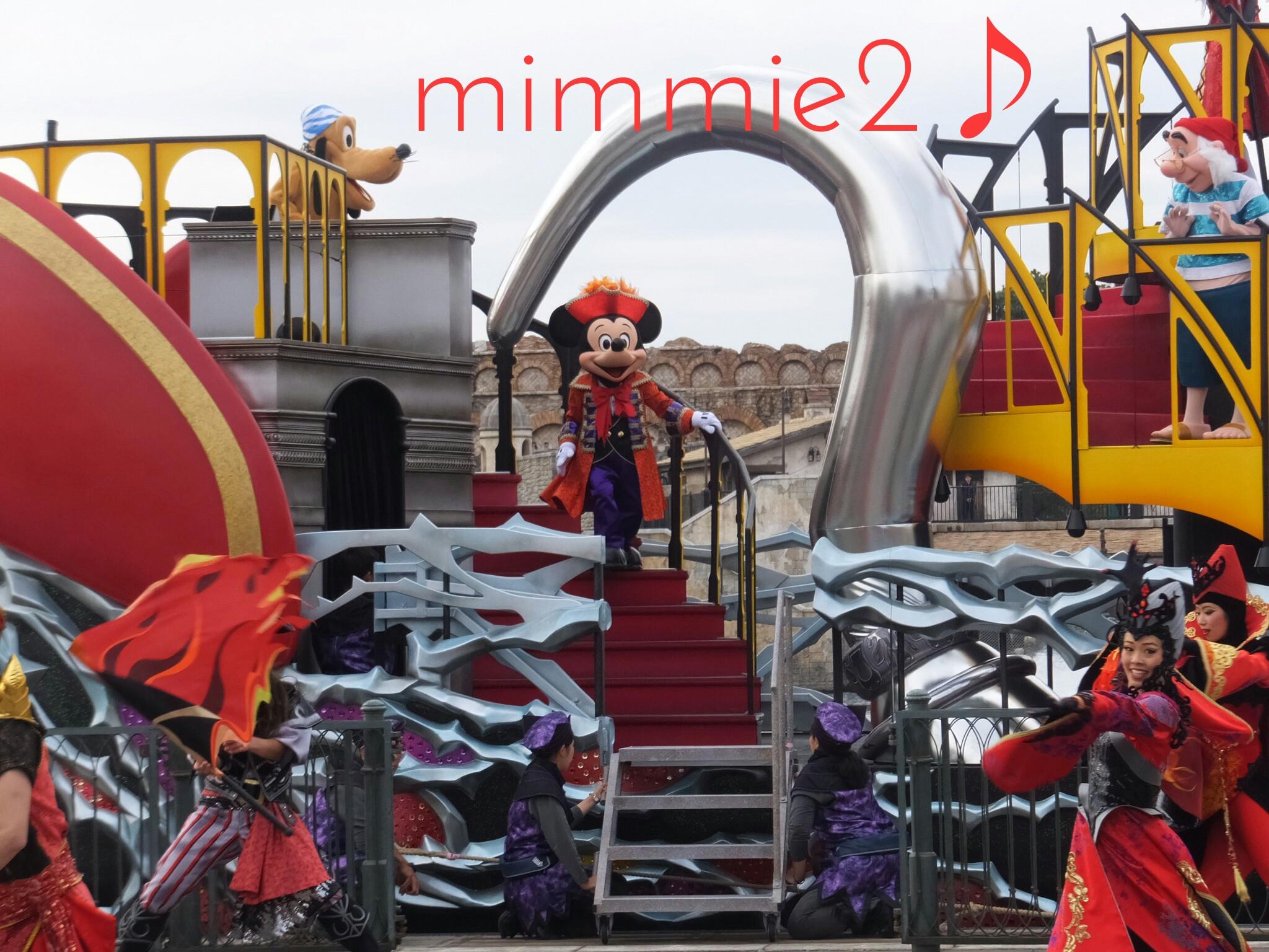 ザ・ヴィランズ・ワールド☆下船するミッキー♪