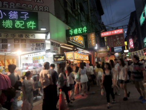 台中・逢甲夜市 大腸包小腸 (5)